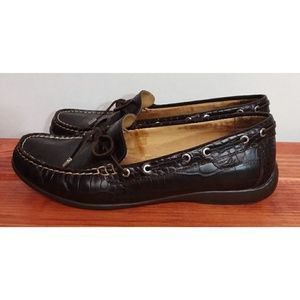 Sperry Brown Leather Top Siders 7.5